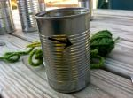 Yarn Wrapped Tin Can Planters (Step 2)