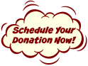 Schedule your donation now for Dec 10th!
